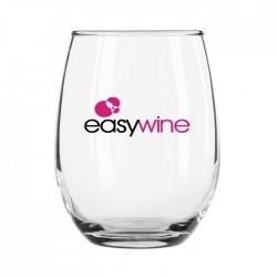 5.5 oz Taster Sampler Restaurant Stemless Wine Glass