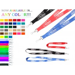 "FREE PMS MATCH 3/4""x36"" Premium Poly Lanyard with Attachment"