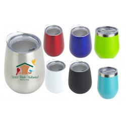 10 oz Double Wall Vacuum Insulated Stainless Wine Mug