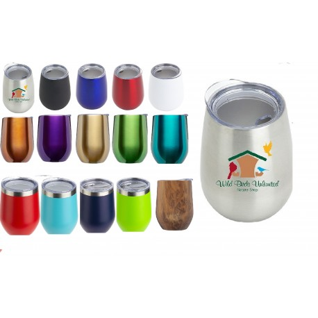 11 oz Double Wall Vacuum Insulated Stainless Wine Mug