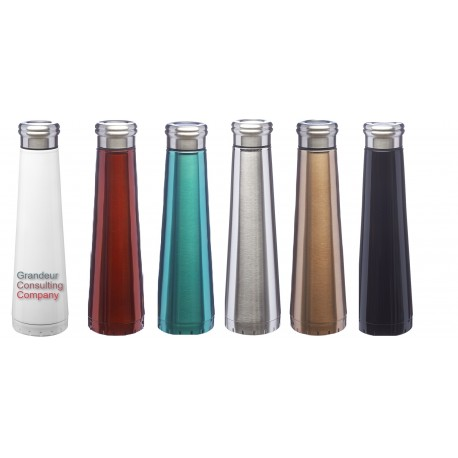 16 oz Vacuum Insulated Double Wall Stainless Steel Bottle