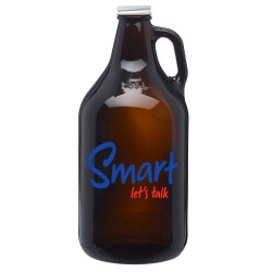 64 oz Custom Imprinted Promotional Personalized  Growlers