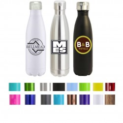 17 oz Personalized Double Wall Stainless Steel Promotional Sports Bottle