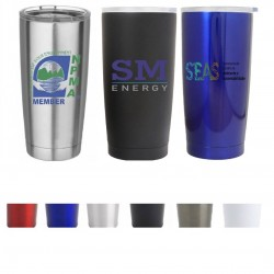 20 oz Double Wall Stainless Steel Vacuum Insulated Travel  Personalized Promotional Mugs Yeti Style