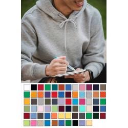 Gildan Adult Hooded Heavy Blend Pocketed Athletic Sweatshirt with Drawstrings