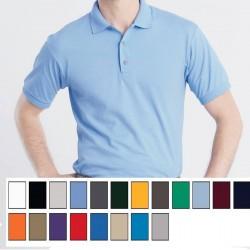 Gildan Luxe Dryblend Pre-shrunk 50/50 cotton/poly knit Moisture Wicking Jersey Sport Shirt