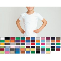 Youth White Heavy Duty Blended T-Shirts