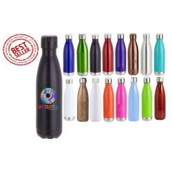 17 oz Personalized Double Wall Stainless Steel Vacuum Bottles Similar to Swell