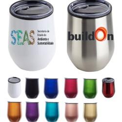 12 oz Double Wall Vacuum Insulated Stainless Wine Mug