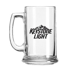 Glass Beer Stein Mug