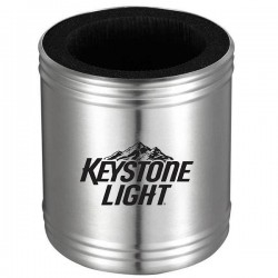 Stainless Steel Can Cooler with Foam Insulator