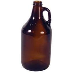 64 oz BeerHave Amber Growlers