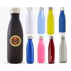 17 oz Screened or Lasered Vacuum Insulated Stainless Bottle
