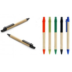 Eco Friendly Green Recycled Ballpoint Pen