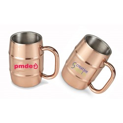 14 oz Stainless Steel Copper Moscow Mule Mugs