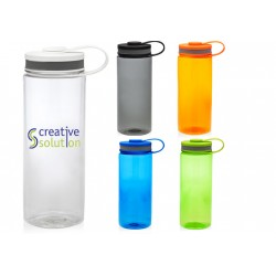 26 oz Translucent Plastic Bottle w/ Lid and Carrying Handle