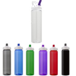 USA Made Plastic Flip Spout Beverage Travel Cups
