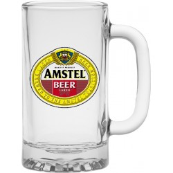 Glass Beer Mug Steins
