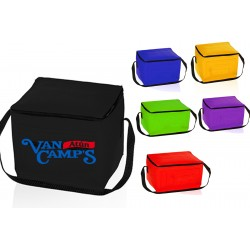 Insulated Non-Woven 6- Pack Cooler Lunch Bag