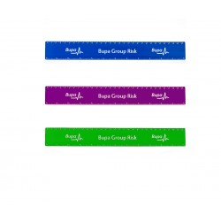 """USA Made 12""""Custom Imprinted Durable Promotional Rulers"""
